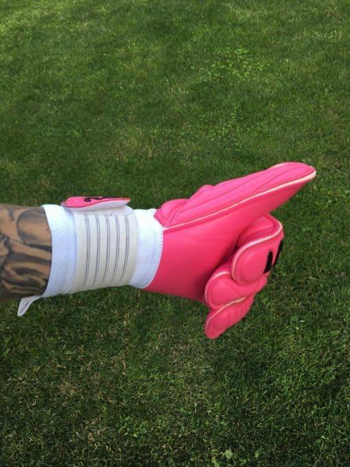 BU1 All Pink Roll Finger