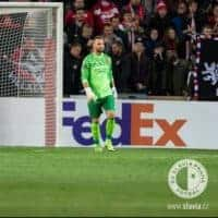 Premysl Kovar in BU1 goalkeeper gloves
