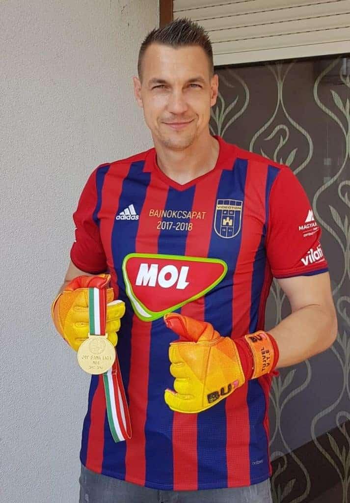 Tomas Tujvel Videoton FC medal