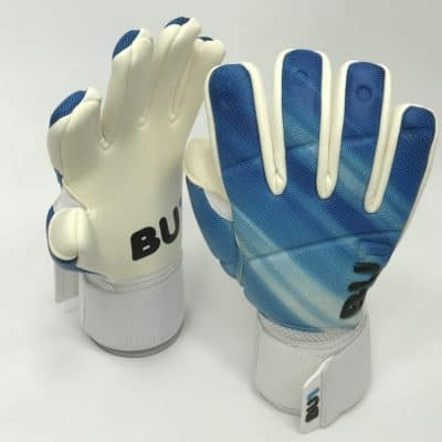 Soccer football goalkeeper gloves BU1 Blue Negative Cut