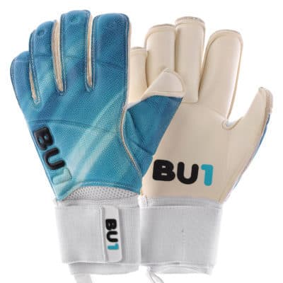 Goalkeeper gloves BU1 Blue Roll Finger