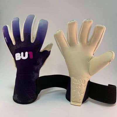 Football soccer goalkeeper gloves BU1 FIT Violet NC