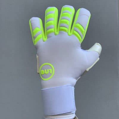 BU1 Neo White goalkeeper gloves
